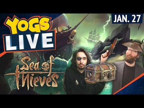 Sea of Thieves & CS:GO w/ Tom & Harry - 27th January 2018