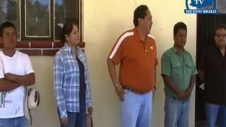 OAXACA NUEVO SIGLO TV DANIEL CUEVAS ENTREGA APOYOS A LAS AGENCIAS UNION, SANTIAGO Y LA CUMBRE IXTALT