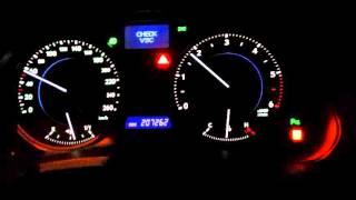 Горит VSC Lexus IS220D(, 2016-04-11T19:42:06.000Z)