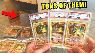 *BOX FULL OF CHARIZARD POKEMON CARDS!* Opening BIG BOX With ULTRA RARE Cards!