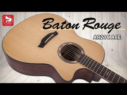 Baton Rouge AR21C/ACE - удачная электроакустическая гитара для фингерстайла