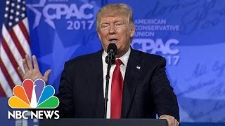 President Trump Stresses Patriotism Over Global Cooperation At CPAC | NBC News