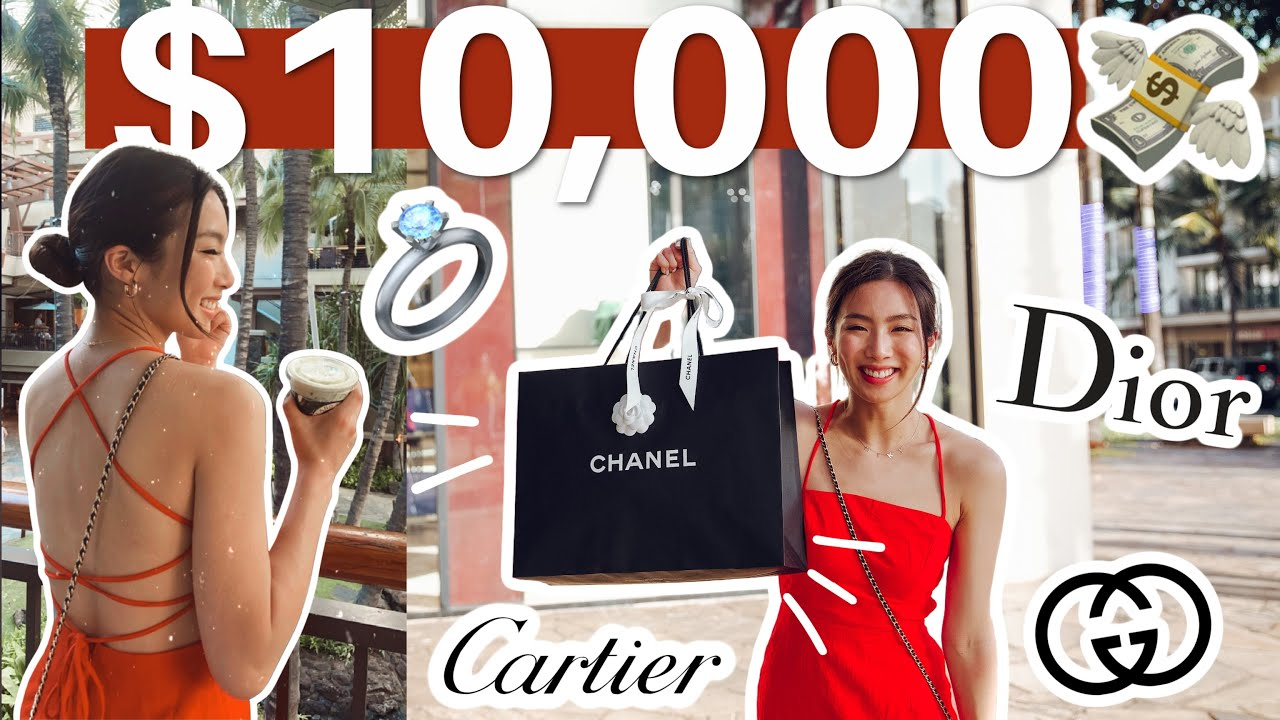 $10,000 SHOPPING CHALLENGE (FIRST luxury haul)