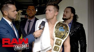 Find out how The Miz reacted to his loss to John Cena on Raw, forci...