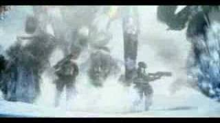 Lost Planet music video in flames - dial 595 escape