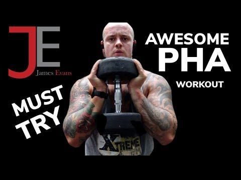 Awesome PHA Workout | PHA Training with TREADMILL and DUMBBELLS!