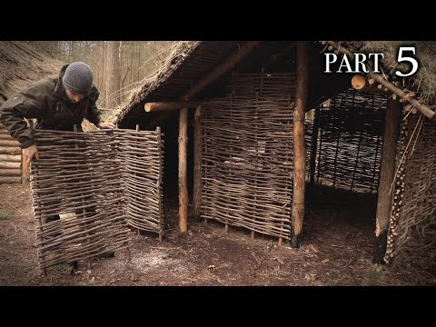 Building A Viking House: Perimeter Walls & Raised Bed