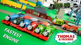 RACE 5 Thomas and Friends TrackMaster Train Collection Fastest Engine Competition