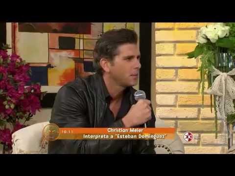 El elenco de La Malquerida presentan la novela en el Programa 'Hoy'