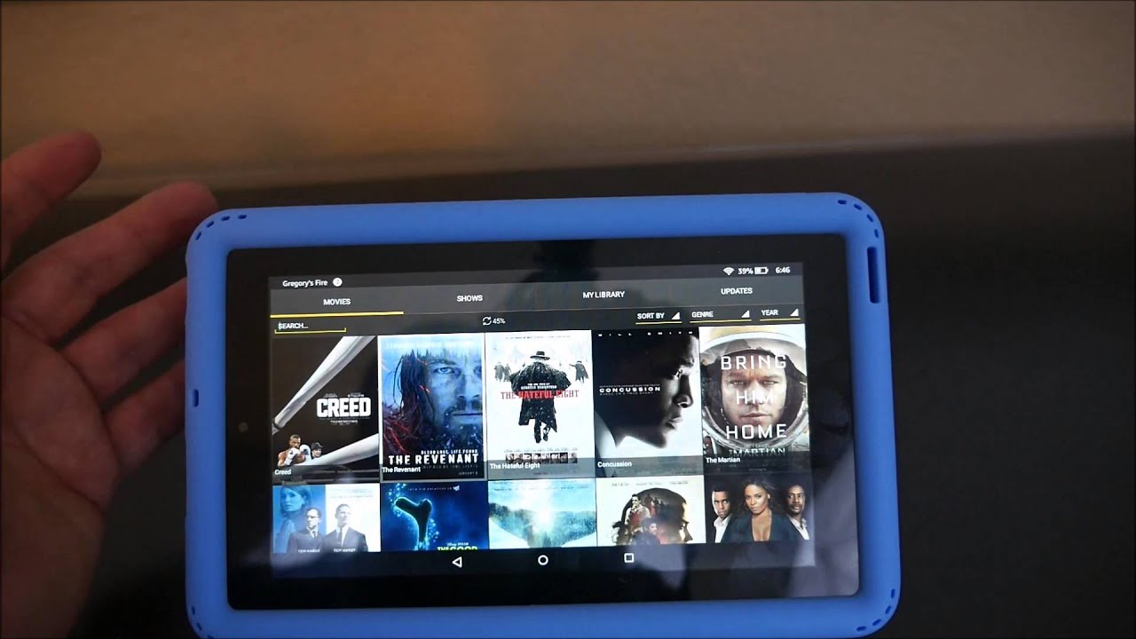 Showbox For Tablet >> $50 Amazon Fire Tablet How to Install Showbox - YouTube