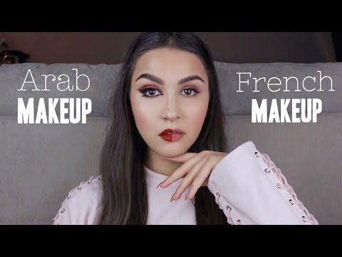 Maquillage ARABE vs FRANÇAIS / Arab Makeup vs French Makeup