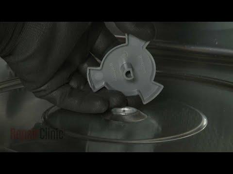Turntable Motor Coupling - Kitchenaid Microwave #KMBP100ESS01