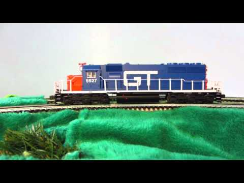 Lionel Grand Trunk Western SD40 diesel-electric locomotive GTW 5927