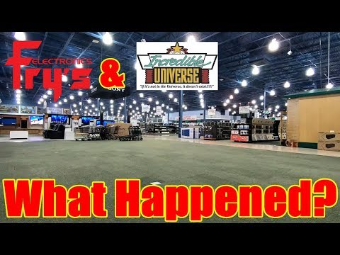 Fry's Electronics & Incredible Universe: What Happened? | Retail Archaeology