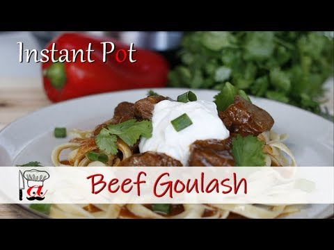 Beef Goulash | Instant Pot Recipes