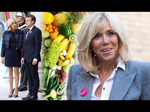 Brigitte Macron diet and exercise - what does Emmanuel Macron's wife eat to stay looking so YOUNG?