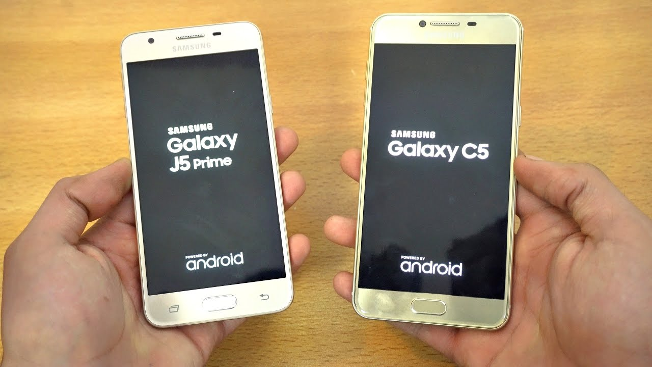 Samsung Galaxy J5 Prime Vs C5