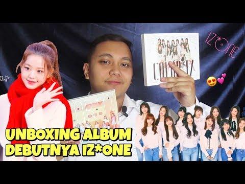IZ*ONE MINI ALBUM VOL.1 ALBUM COLOR*IZ UNBOXING [Bahasa Indonesia]