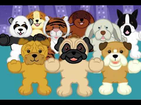 Hug a Pug - November 2009's Pet of the Month Video Featuring the Webkinz Pug