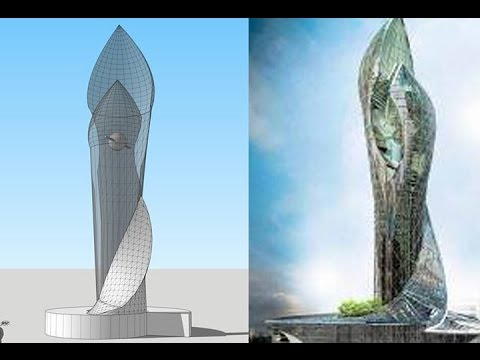 How To Model Skyscraper In Sketchup Essentials Youtube