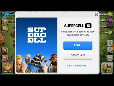 HOW TO LOGIN SUPERCELL ID Clash Of Clan