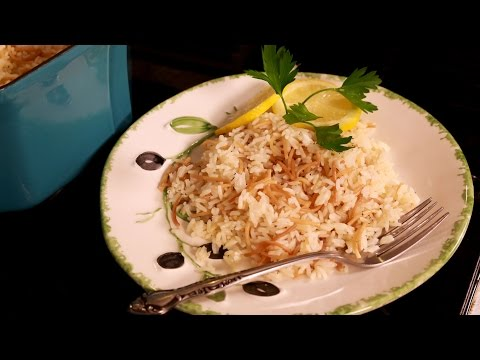 Mediterranean Rice Pilaf with Vermicelli
