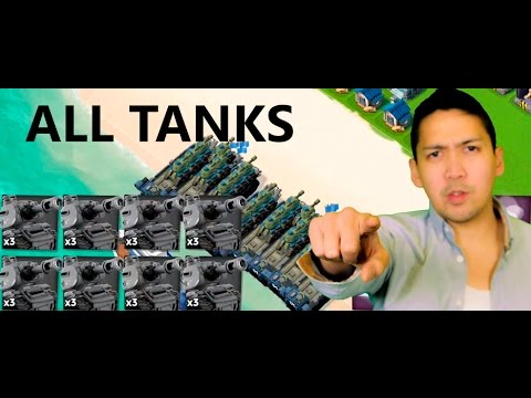 all max 24x tank attack boom beach gameplay strategy youtube