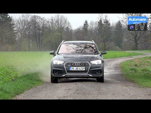 2017 Audi A4 Allroad 30 Tdi 272hp Drive Sound 60fps Youtube