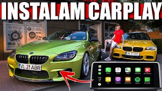 153* Vlog/CarVlog - MONTĂM CARPLAY PE SERIA 6!