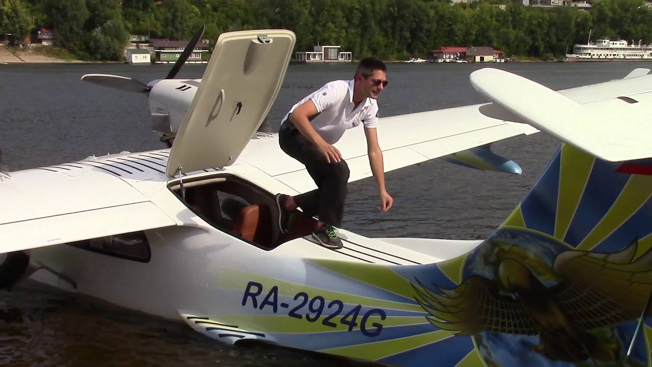 Seabear L 45 amphibian with Rotax 915