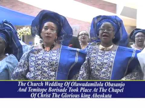 OBASANJO DAUGHTER'S WEDDING CEREMONY