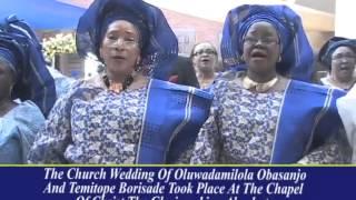 OBASANJO DAUGHTERS WEDDING CEREMONY