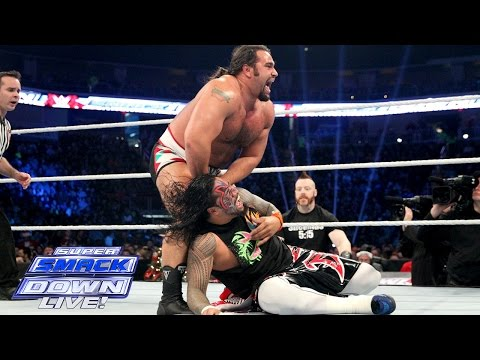 The Usos Vs. Alberto Del Rio & Rusev: SuperSmackDown, December 22, 2015