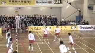 1990 大專排球決賽 柏立基教育學院vs 香港大學