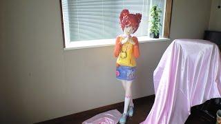 papercraft :The Idolm@ster Yayoi Takatsuki LIfe Size Model