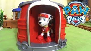 Щенячий Патруль на русском - Щенки Модники. Paw Patrol Marshall Magical Pup House with Skye surprise