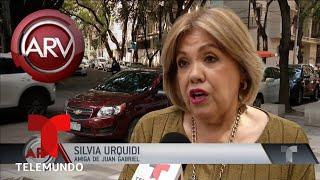 Silvia Urquidi retó al exsecretario de Juan Gabriel | Al Rojo Vivo | Telemundo