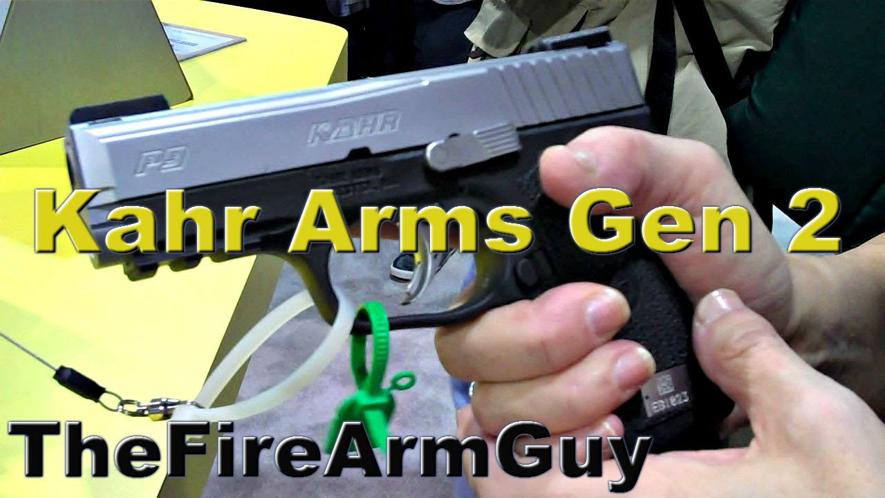A Closer Look at the Kahr Arms Gen 2 Trigger - TheFireArmGuy
