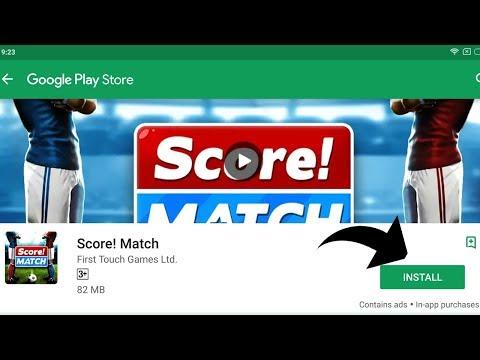 SCORE! MATCH - ANDROID GAMEPLAY ( GOOGLE PLAYSTORE ) - Techzamazing