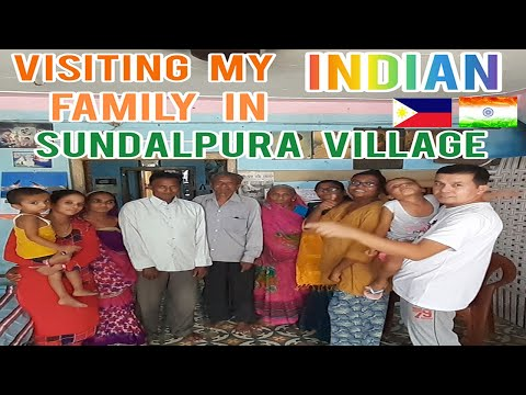PINOY MARRIED TO INDIAN WOMAN. FILIPINO VISITING MY INDIAN FAMILY IN  SULDALPURA VILLAGE PART 1.