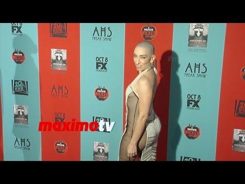 Naomi Grossman | American Horror Story Freak Show PREMIERE | Red Carpet