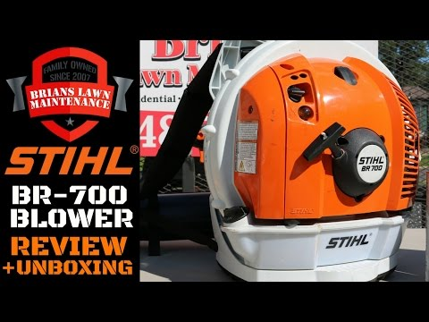 Stihl BR-700 Backpack Blower Review | The Best Leaf Blower Out?