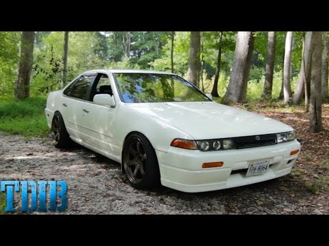Nissan Cefiro  Review!- The JDM RB20 Four Door!