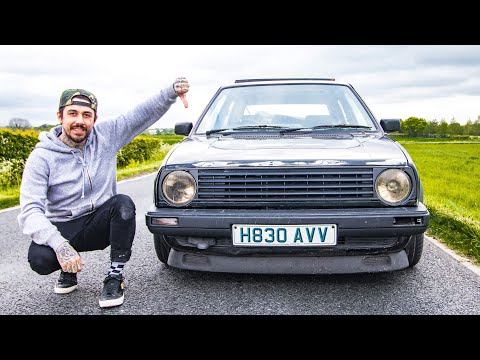 SAD DAY FOR THE VW MK2 GOLF!!!