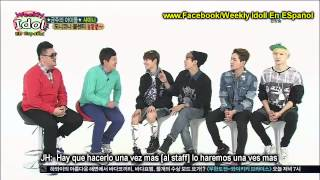 Download Video [Sub Español] 130403 Weekly Idol SHINee Parte 1/2 MP3 3GP MP4