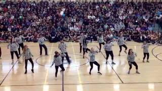 "Homecoming Rally Staff Dance ""Petty"" 10/7/16"