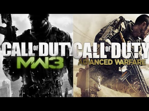 AW Infected VS MW3 Infected - Call of Duty Advanced Modern Warfare 3 Gameplay CoD |