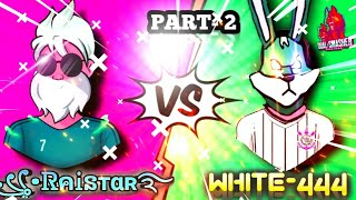 WHITE 444 VS ꧁•ᏒคᎥនтαʀ࿐ || (part- 2 ) || WHITE 444 VS RAISTAR || BEST VS BEST || 1 vs 1