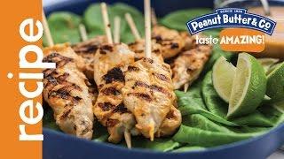 Peanut Butter Chicken Satay Recipe