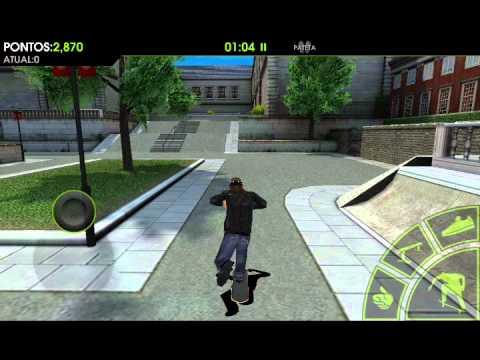 Game player do jogo skateboard party 2